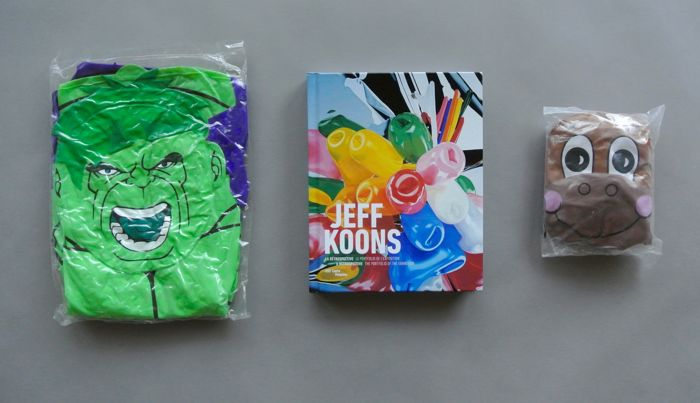 Jeff Koons  - Retrospective & Pop Art Inflatables Set