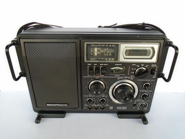 Panasonic DR 28 RF-2800 LBS Shortwave Receiver Radio