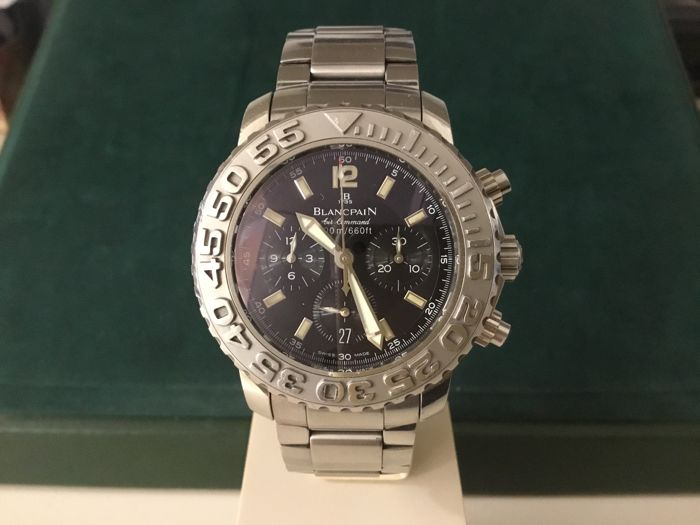 Blancpain 2285f 1130 71 Fifty Fathoms Flyback Air Command Catawiki