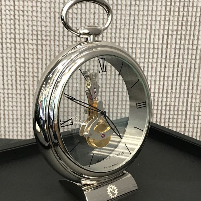 Matthew Norman 8 days Power Reserve luxury clock