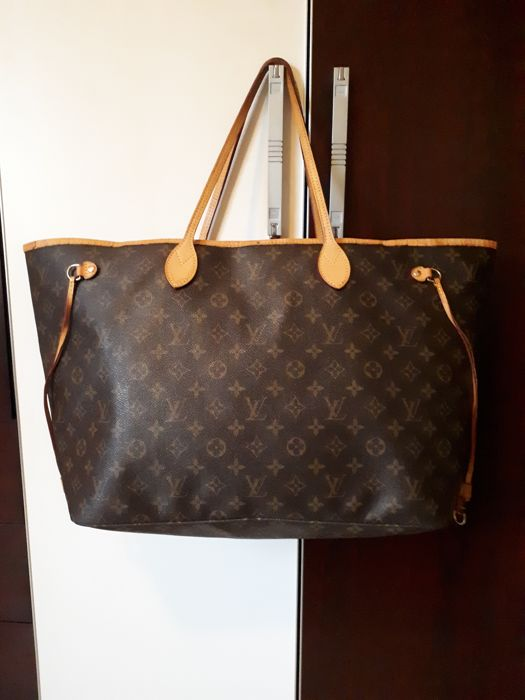 d385b7de2d58 Louis Vuitton - Neverfull MM Monogram Canvas - NO RESERVE ...