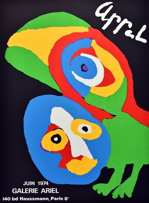 Karel Appel -  Birds