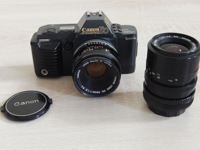 Canon  T70 35-70 + 50mm