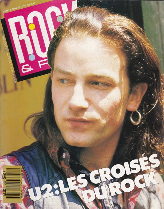 37 Music magazines with U2 on fr.cvr + art.inside + pictures + posters.ins.all vg to nm cond.