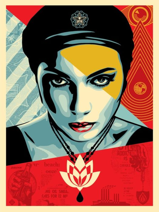 shepard fairey Shepard fairey 891 likes this is a place dedicated to the works and fans of artist shepard fairey.