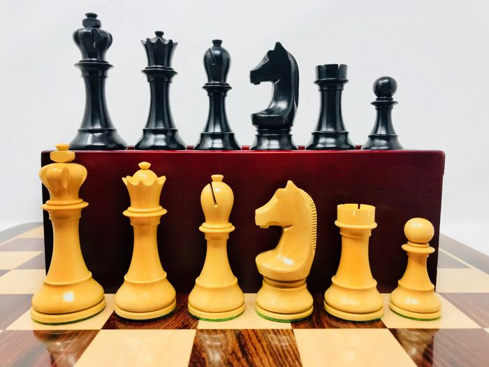 SOCHI Staunton 6 ebony chess Super luxury set