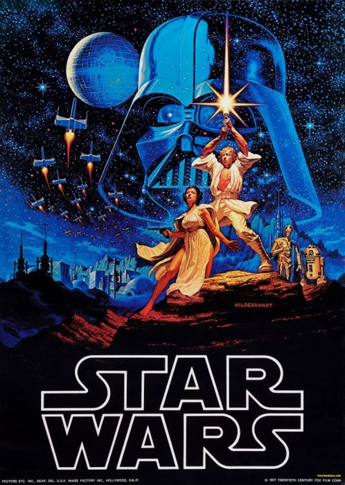 Hildebrandt - Star Wars - A New Hope - 1977 - Catawiki