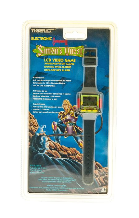 Castlevania II Simon's Quest LCD Game and Watch by Tiger Electronics