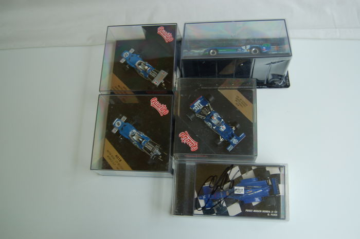 Minichamps / Quartzo / Altaya - Scale 1/43 - 5 x French race car set