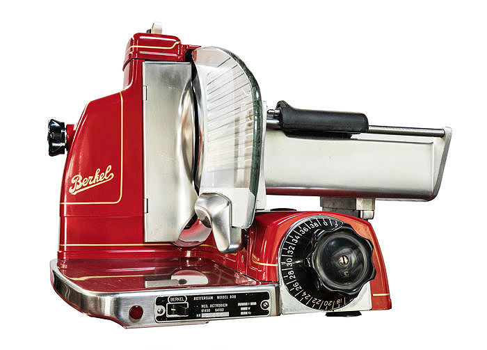 Completely revised colour. Berkel classic 836 Gold cutting machine 1960