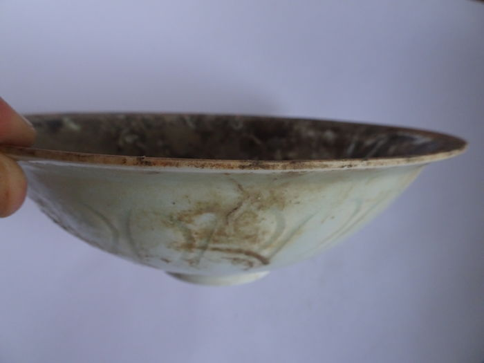 Ancient Chinese Porcelain celadon bowl - 180 x 63 mm - (1)