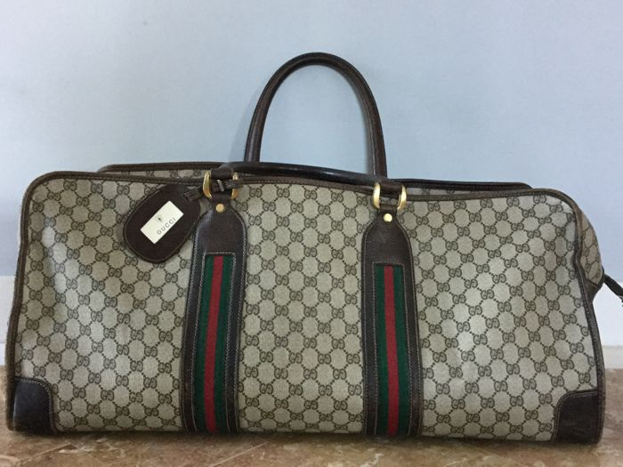Gucci - Duffle bag - Vintage - Catawiki fbf3778fb5de