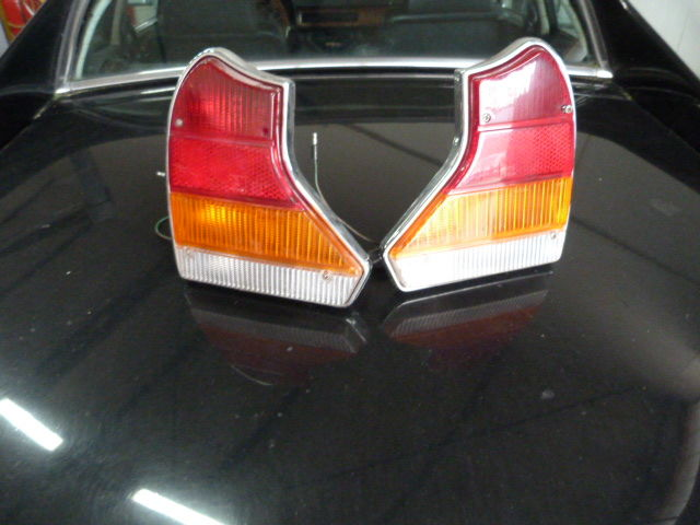 2 Rear lights for Jaguar and Daimler series III as good as new