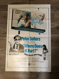 Peter Sellers movie posters - 1962-1978