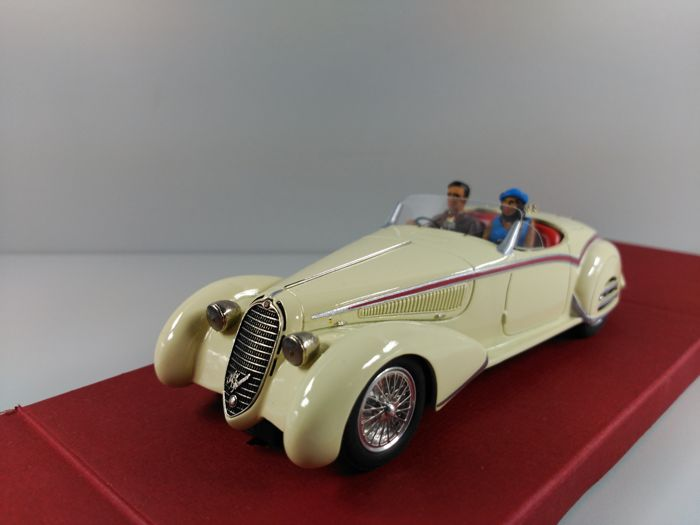 Slot Classic - Scale 1/32 - Alfa Romeo 8C 2900B Spider - Civil Cream