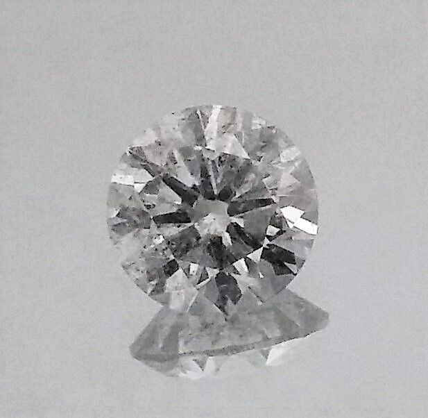 Round Brilliant Cut  - 1.15 carat - F color - SI1 clarity - 3 x EX - Comes With AIG Certificate + Laser Inscription On Girdle
