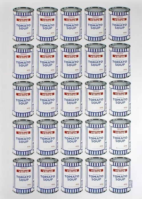 Banksy - Tesco Soup Can