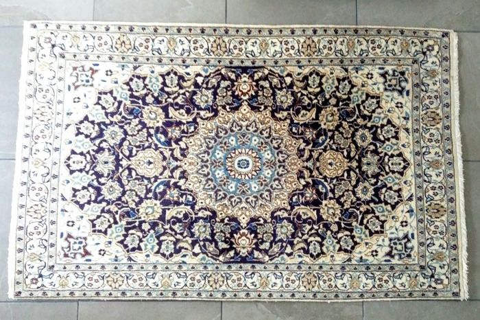 Persian carpet - Nain, 193 x 122 cm - Around 1990