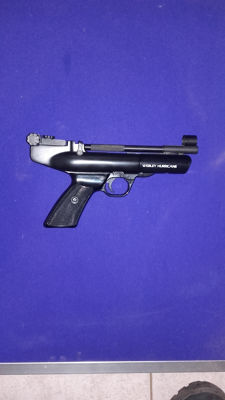 Air pistol Webley Hurricane Calibre 22/5.5mm made in England