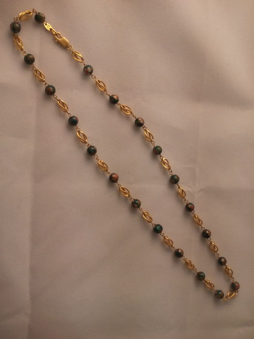 Necklace made of 18 kt yellow gold -14.4 g
