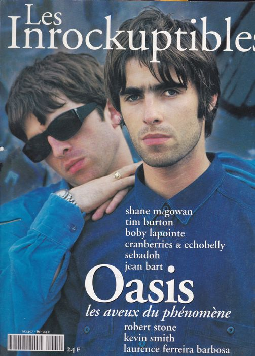 31 Music magazines with The Cure and Oasis on fr.cvr + art.inside + pictures + posters.ins.all vg to nm cond.