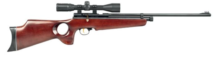 TH78 DELUXE 16J - SMK CO2 pellet rifle with RTI 4X20 scope