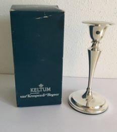 Silver plated candle-holder, Van Kempen & Begeer 1970