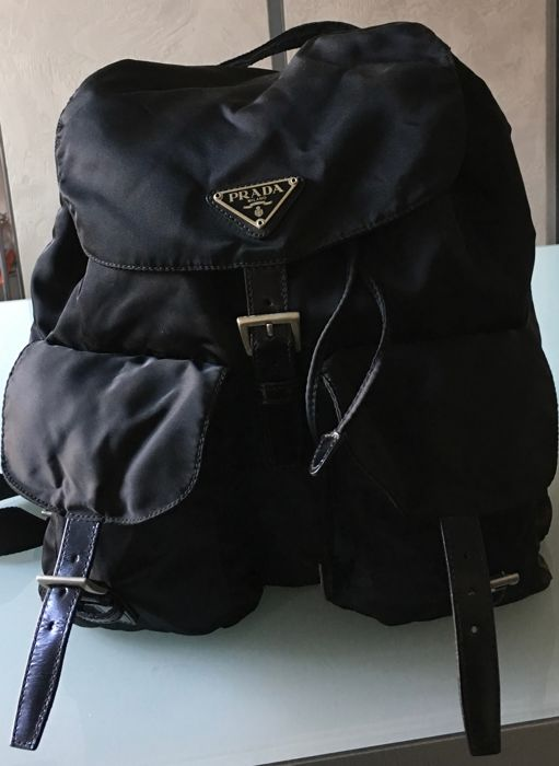 8356a68d09c8 Prada Backpack - Vintage - Catawiki