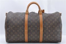 Louis Vuitton - Sac de voyage - Keepall 50 Travel bag - Vintage