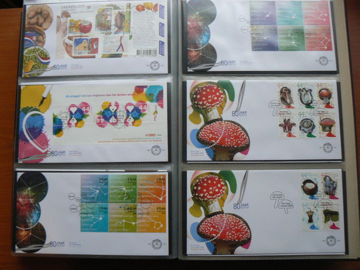 The Netherlands 1978/2008 - Collection of First Day Covers in 3 albums