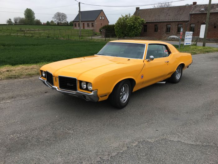 Oldsmobile - Cutlass Cupé V8 - 1972