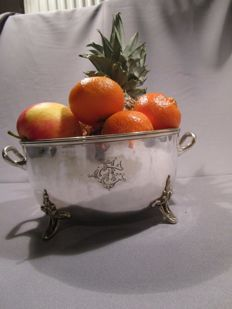Mappin & Webb´s - Princ's Plate - England - bowl with handles and feet - silver-plated - 1st half of the 20th century - marked