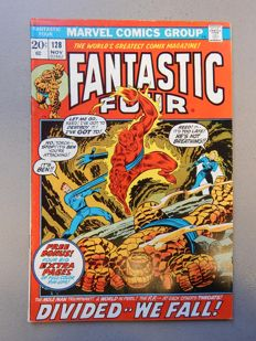 Marvel Comics - Fantastic Four #128 + #134 - 2x sc - (1972-1973)