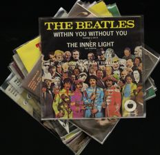 """The Beatles lot of twelve Mexican (4-track) singles incl. """"Michelle EP"""", """"I need you EP"""", """"Help! EP"""" and many more"""