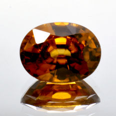Orange zircon - 2.09 ct
