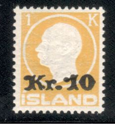 Ireland 1924 - postage stamp 10 Kr. and 1 Kr. - Michel 111