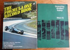 Two rare old Formula 1 books