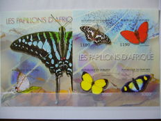 Burundi 2011/2013 - Collection of imperforate blocks in two stock books