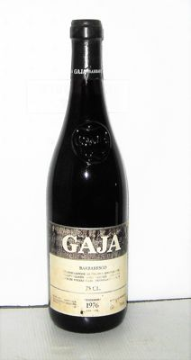 Barbaresco 1976 - Domaine Angelo Gaja - 1 bottle (75cl)
