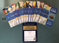 Europe - Euro Collection - 12 countries official welcome set for the Euro