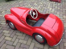 Austin J40 Roadster Pedal Car, early model 1949/1950, chassis number 2475JR - Austin, England - Length 160 cm - Pressed Steel
