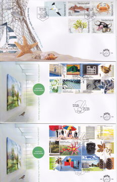 The Netherlands 2017 - Complete year set of First Day Covers.