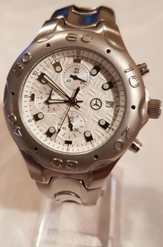 MERCEDES-BENZ Collection watch/box - Chronograph watch for men Made in Switzerland - 2010