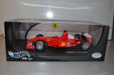 Hot Wheels - Schaal 1/18 - Ferrari F2001 #1 - M. Schumacher