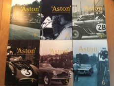 Aston Martin - first 6 Issues of 'Aston', the yearly Journal of the AM Heritage Trust - 1999-2004