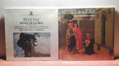 5) Lot of religious songs and masses. 16lp and 4 boxes in exceptional conditions, nm-mint. In total the lot starts of 28 disc