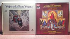 6) Lot of Requiem,Vespri and choral liturgical 6box and 8lp for 23disc