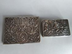 Cigarette box 800 silver / gold-plated - Germany - 1920s