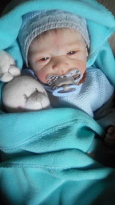 reborn baby from Michelle kit