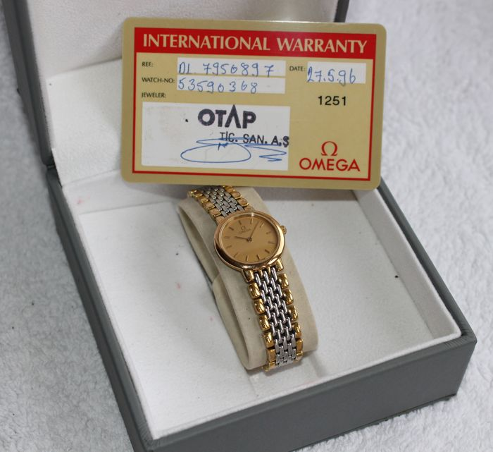 Omega - De Ville Box in Paper - 7950897 - Dames - 1990-1999